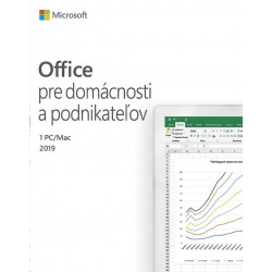 Microsoft Office Home and Student 2019 Slovak 79G-05073